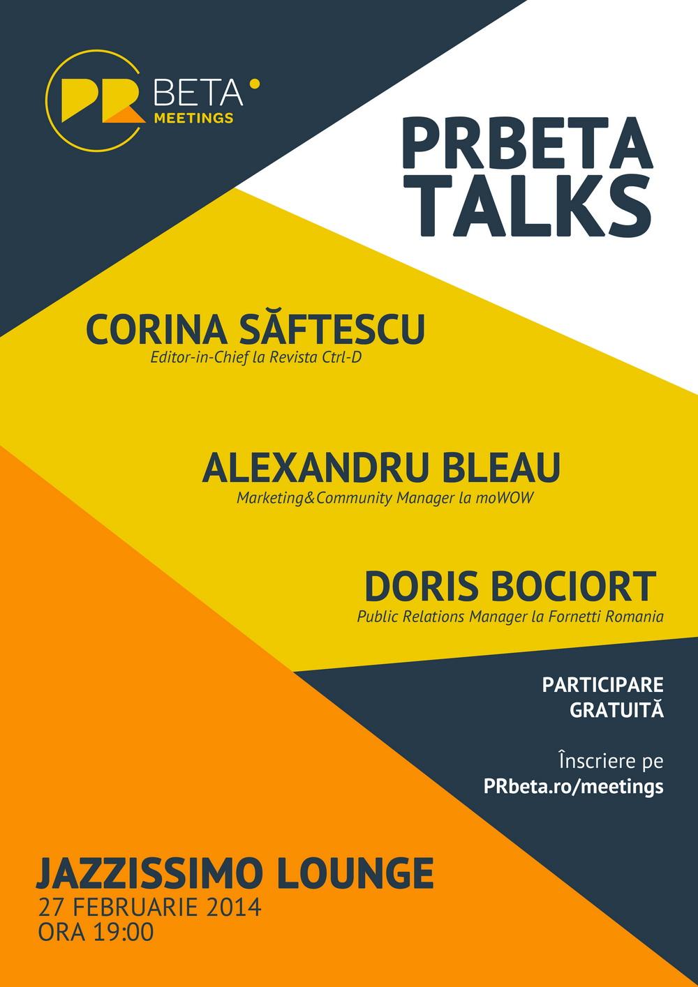 PRbeta Talks, editia a 4 a